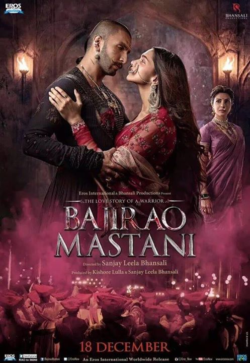 Official poster of Bajirao Mastani