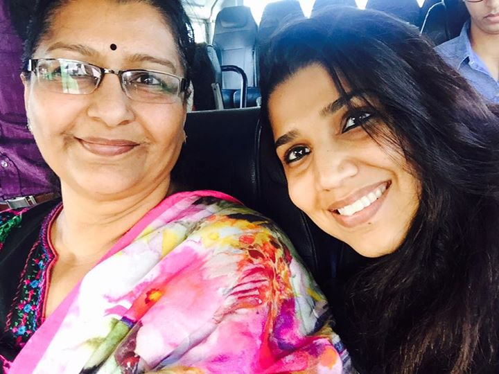 In #Mumbai with Mom it's so much fun traveling with parents, so much more dependent u can be at any age 😍