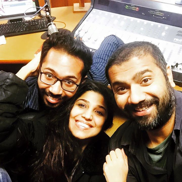 Happy Times with mad Boyz #Chirag #Yasar in #RedFMStudios #MN1 #BestShowGujarat awarded by #IRF goes crazier