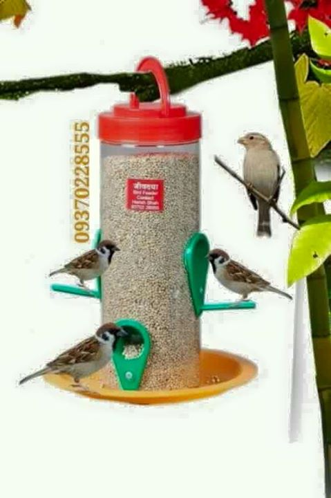 This is a 'birdfeeder' costing only Rs. 100 which Is sent from Nashik send to all over India via courier.  order it now  Hareshbhai- 09370228555