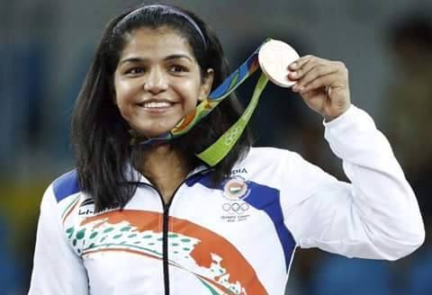 Congratulations #SakshiMalik on winning our first medal at #Rio2016  So proud to say that a Girl got us the first medal at #Olyimpics2016  #SakshiMalik is a reminder of what cn happn if u don't kill a girl child.When d going gets tough,its our girls who get going &save our pride  please encourage girls around u for fitness, sports and every dream that they wish to achieve... they will make u proud as much as ur boys...  Jo #Sultaan me Anushka Sharma ka character nahin kar paya wo real life mein #SakshiMalik ne kiya...  Our athletes deserve the same importance and support from us as our Film Stars if not more.....   #BravoSakshiMalik
