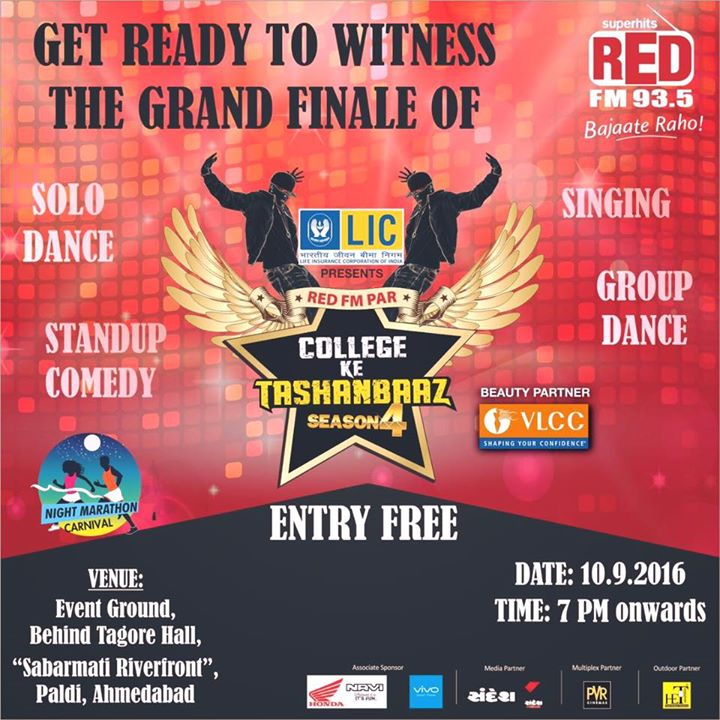 Grand Finale of #RedFM ke #TashanBaaz Tomo night behind Tagor Hall River front event ground.... Open for all, do not miss!!!