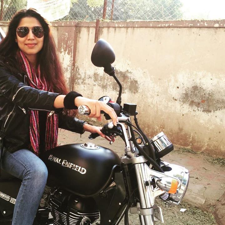 बुलेटरानी - My brand new ride 😍😍😍  See u on the road.....