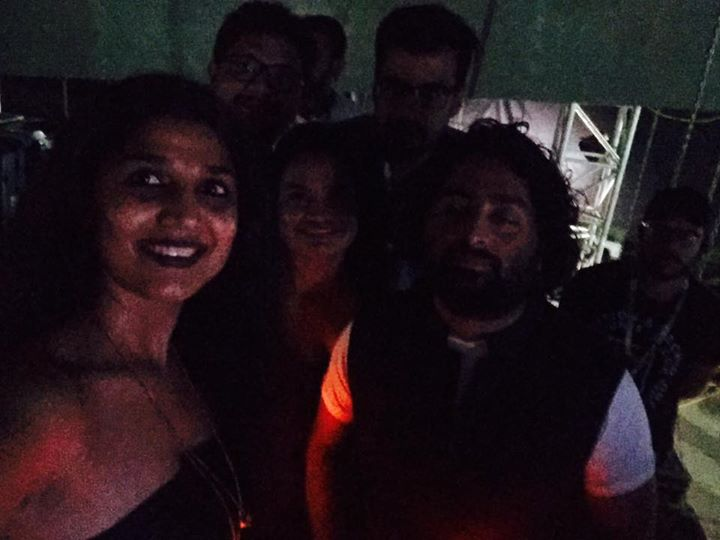 Just before he hits the stage #ArijitSingh  #AsNeverB4