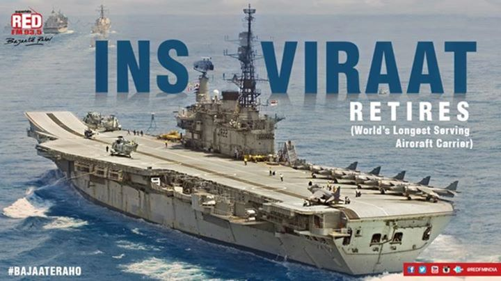 The pride of Indian Navy  #INSViraat retires after years of #Samudramanthan