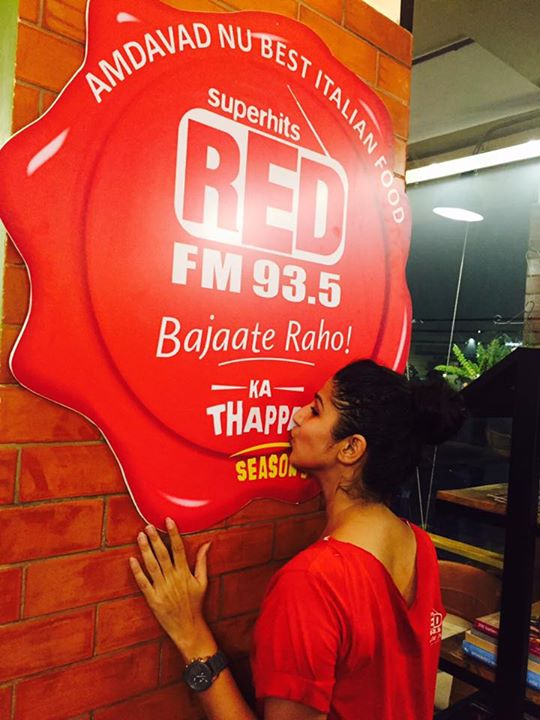 I love Red FM Ka #Thappa