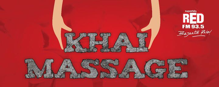 Red FM #KhaiMassage nominate bad roads n Red Team will arrange a massage for u on traffic signals