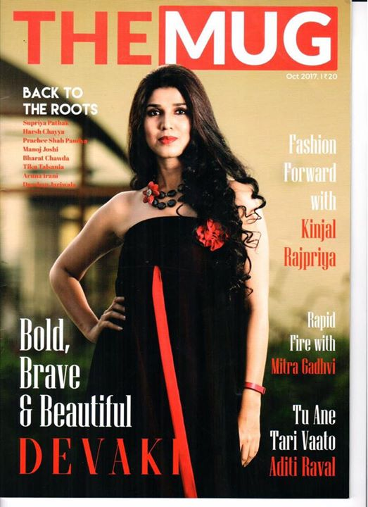 Happy to be featured on the cover page of TheMug magazine Diwali edition falling in my Birthday Month....