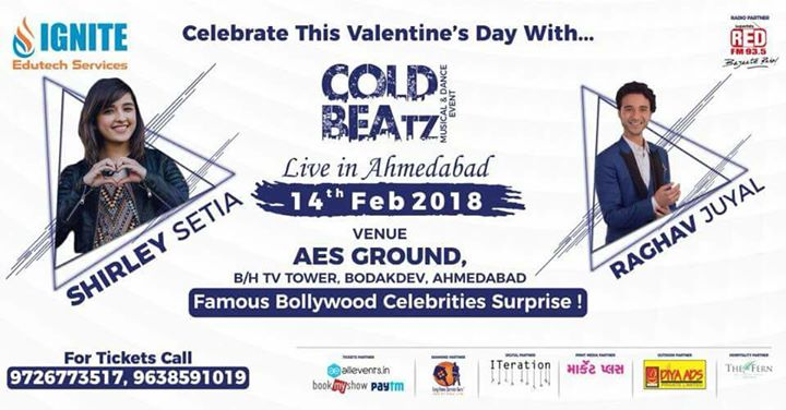 Make this valentine musical as you groove to beautiful songs with Sherley Setia and Raghav!! Tickets on book my show and to win free passes stay tuned to 93.5 Red FM!!