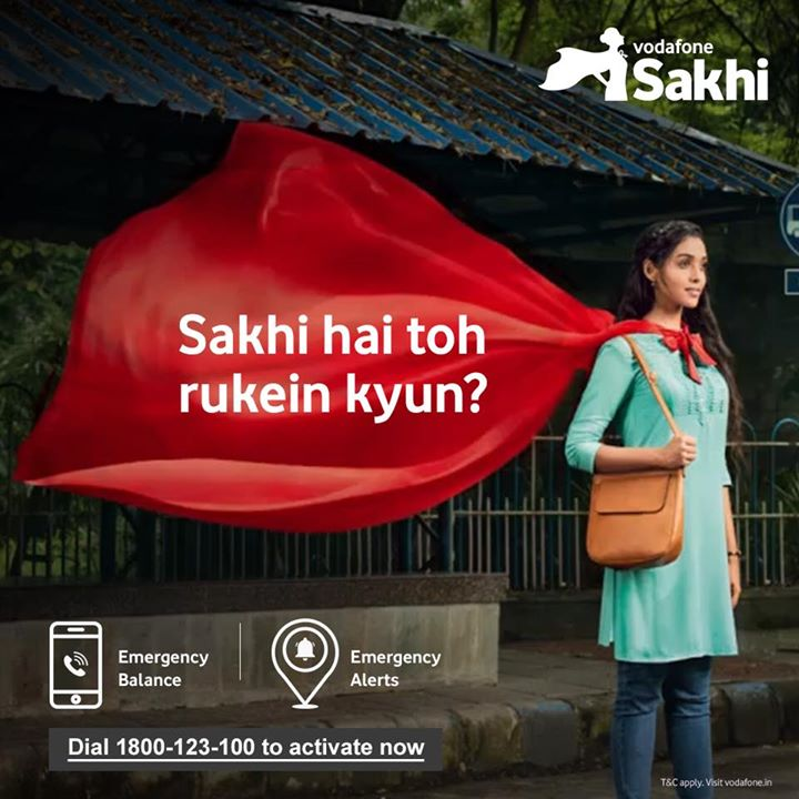 I encourage all women to be bold, brilliant, brave & live life fearlessly. It enables women to chase their dreams. Vodafone Sakhi hai toh #AbRukeinKyun Vodafone Zoozoos Dial 1800-123-100 to activate. To know more: https://www.youtube.com/watch?v=yXEZl_wTJj8