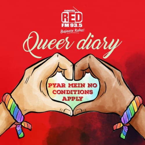 #QueerDiary starting in my show from tomo morning 9am @redfmindia #MN1 if you have any questions regarding any other relationship than straight, pls share ur questions her or DM me, we shall try n talk abt it without revealing ur identity on my show! #Queer #lovestory #limitlesslove #lgbtq🌈 #pride #prideweek