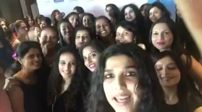 With all beautiful Gujarati girls at club 07 they all t preparing to compete in the finals of Chitralekha Mrs Gujarat, watch me grill their beautiful brains soon of colors Gujarati!