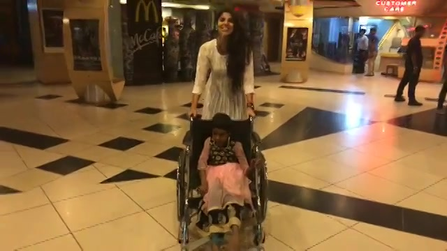 In the special movie screening for special kids, meet Devaki with Devaki.....