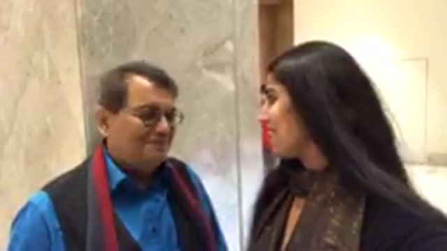 The show man film director #SubhashGhai  gives RJ Devaki an award #FICCIFLOAwards2017 #ProfessionalExcellenceAward tonight