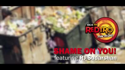This is not just another #ShapeOfYou but a much needed #ShameOnYou Red FM Ka retro radio station Redtro 106.Chaar @RJSudarshan