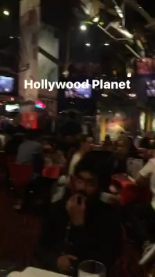 Restaurant at Times Square, New York City owned by Arnold Schwarzenegger Demimoore BruceWillis Sylvester Stallone #PlanetHollywood had the costumes of Titanic and many other films #IIFADiaries #IIFA2017 #IIFASTOMP  Red FM