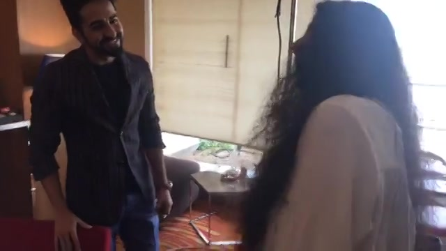 Chitchat with the stars before the interview  We call it warm up professionally and DostiTime personally   Ayushmann Khurrana u r awesome!  Must watch his film #ShubhMangalSavdhan on 1st sep