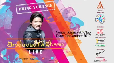 Shaan concert in ahmedabad with Red FM  https://www.facebook.com/events/114861735824929/permalink/121114075199695/