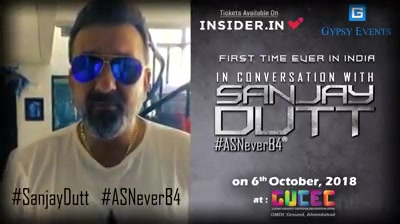 Pre-Navaratri fiesta   Coming up  With A Super Innovative Show first time in India with your favourite Sanjay Dutt  Tell Me What Do You Want To Ask Sanju baba?   #music #fun #entertainment #gossips #AsNeverBefore