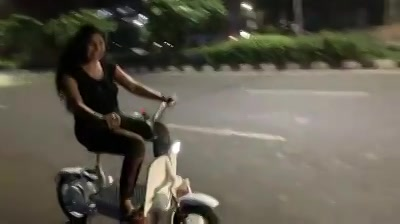 A unique bike start up by Amdavadis  Bumped in to this creation, middle of the night while was out on a drive....  Check it out!  Proud of Gujarati youth!