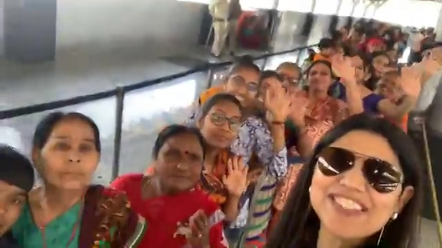 Excited Amdavadi women to travel by metro- first ride free ride celebrating women's day