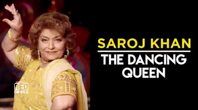 Happy Birthday to Saroj khan ji...