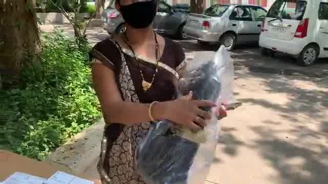 Watch the goodness n humanity of ahmedabadi  Santosh and Neeta received a laptop today by an amdavadi Santa who refused to even take credit or come on video!  This is remarkable, joyful and amazing!  More power to this kind generous giver and all of you who showed interest in helping the needy.  Please use your own platforms or let me know if any one needs help for online education #Caretoshare #Sharesmartness   P.S. Most important learning beyond books  is of humanity!
