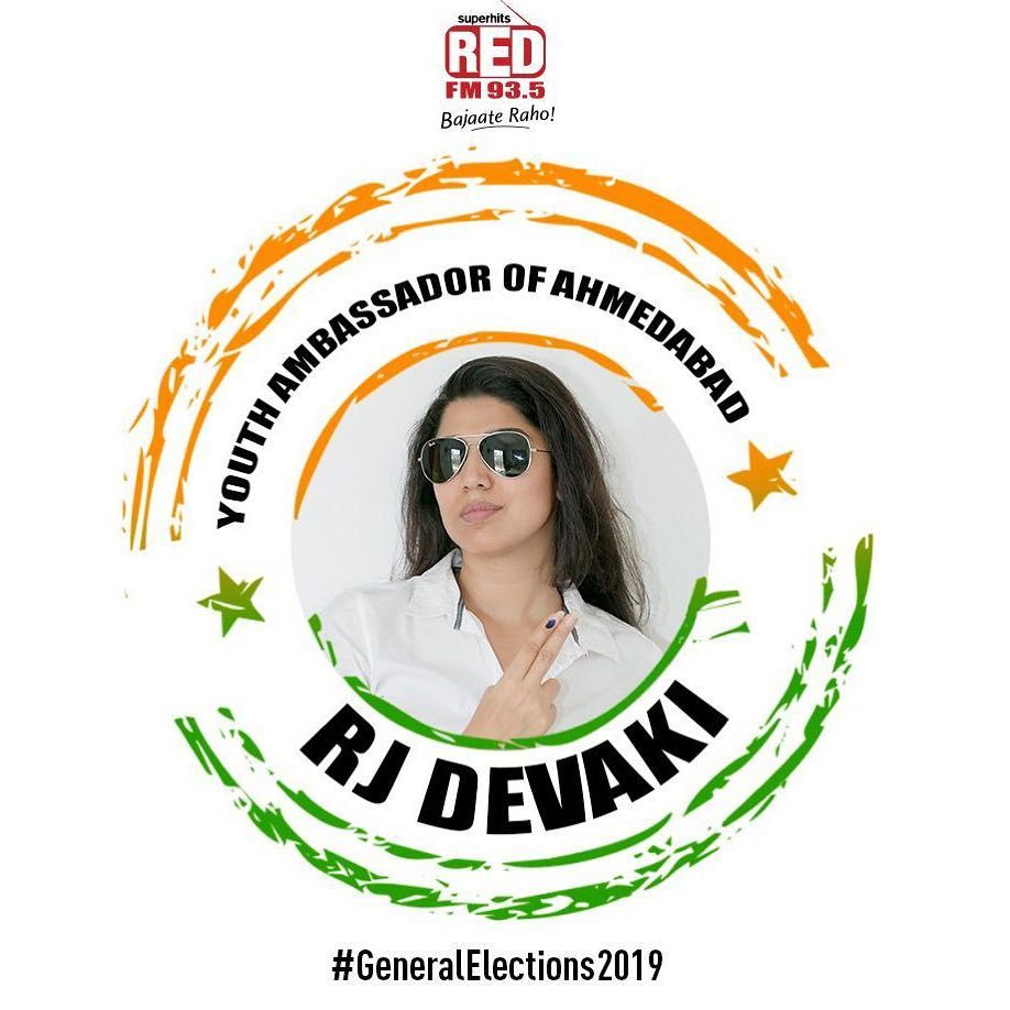 Very delighted to have been chosen as the youth ambassador for the 3rd time by the #electioncommisionofindia #GeneralElecrions2019  अब वतन दबायेगा बटन!