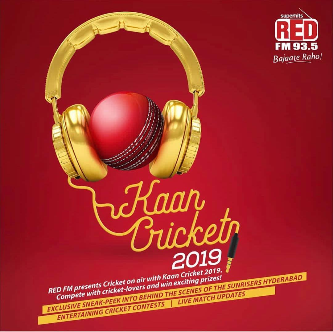 Kaan laga ke sun @redfmindia play the contest , give ur answer on the #RedFMApp n win mobile phones #IPL2019