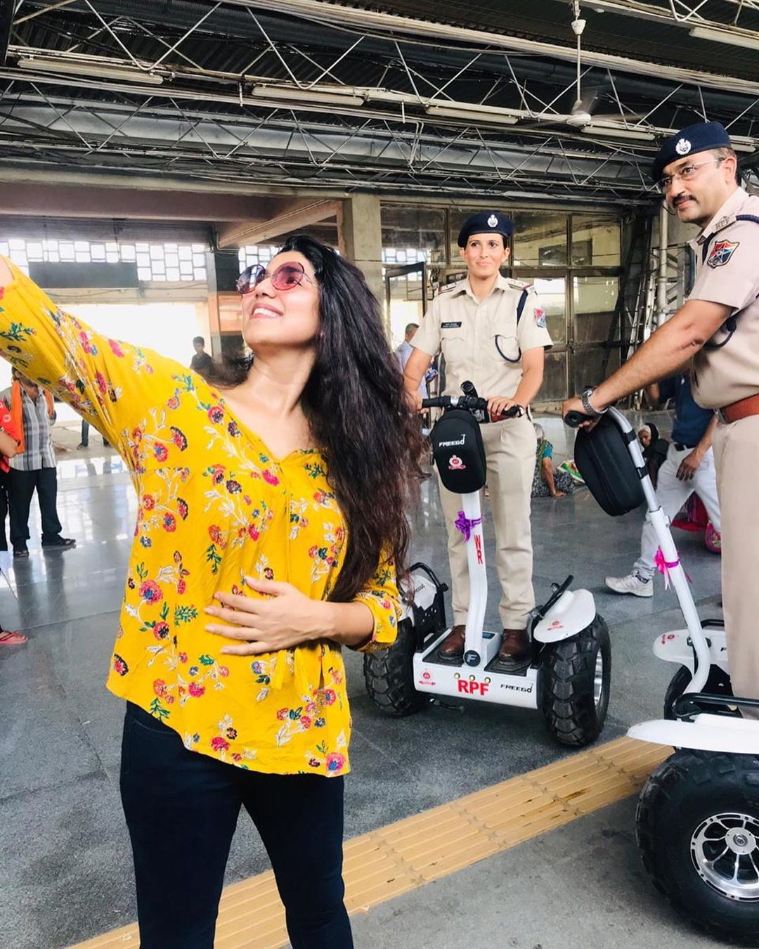 Ahmedabad Railway police now has #segueswag