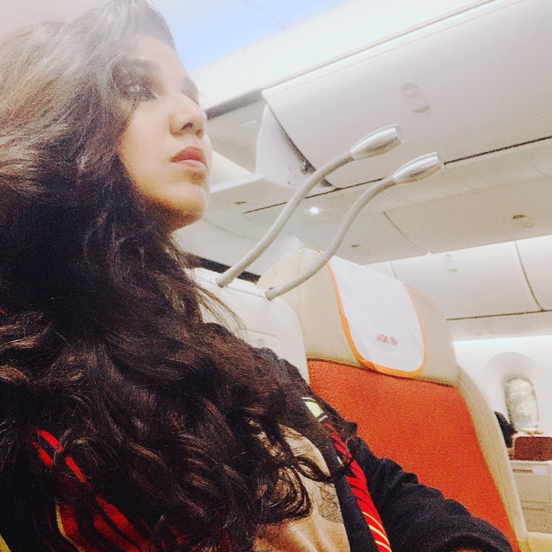 The last stretch of the trip, guess the airline 😈  See you tomo straight on @redfmindia #MN1 #BajateRaho