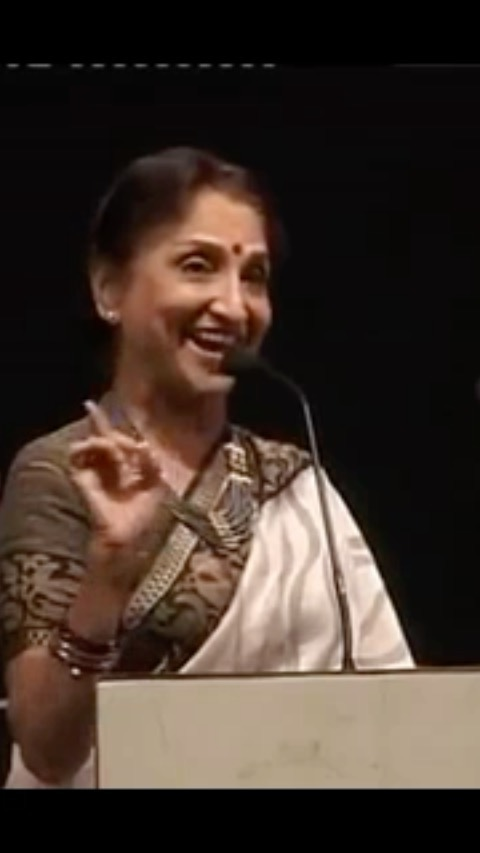 Learn acting, performance, poetry recitation, how to hold the audience, spontaneity and swag!   Sarita Joshi performs the recitation of Suresh Dalal's poem : Makan