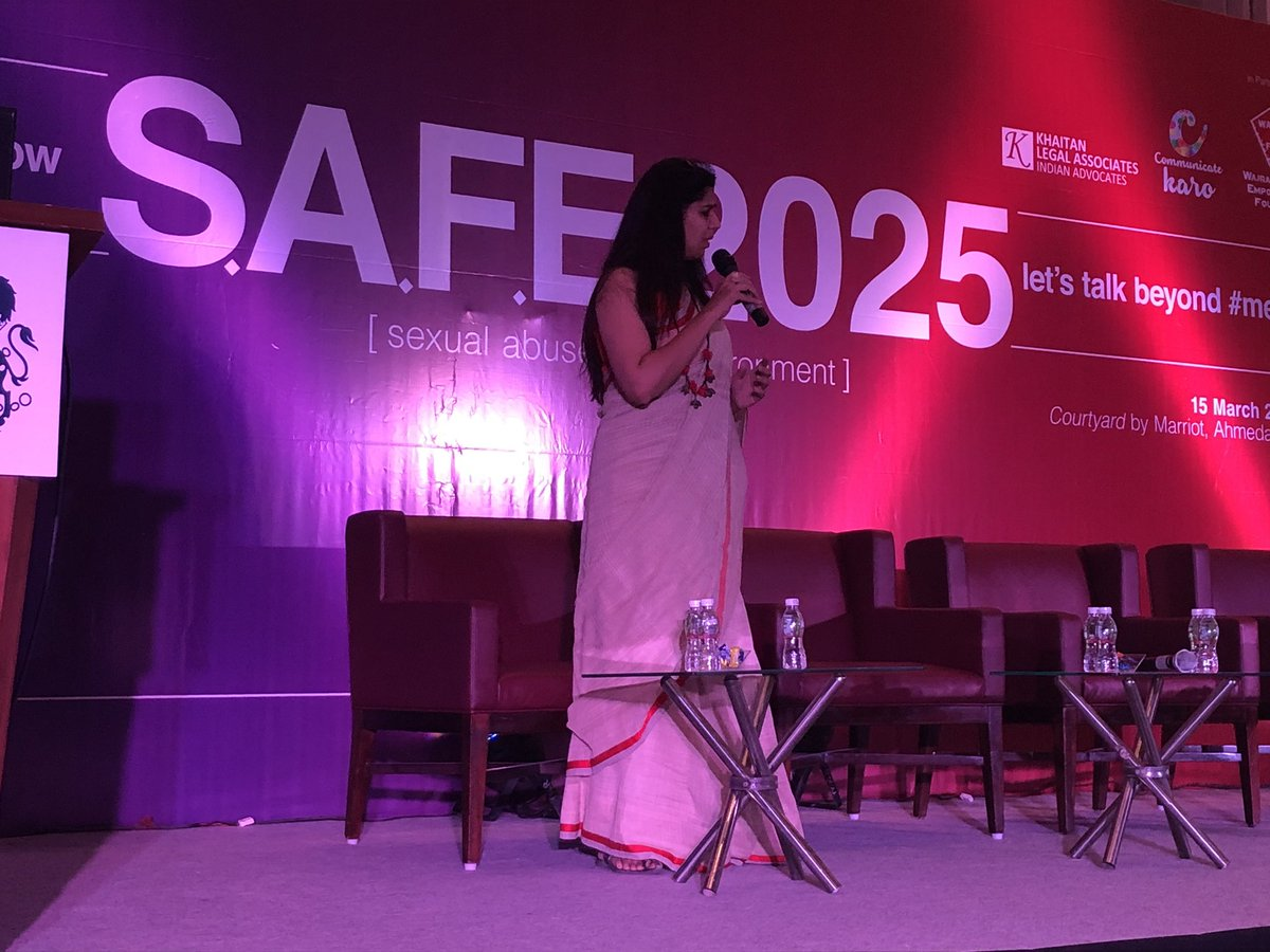 RT @UKinAhmedabad: Ending our session with the amazing @RJdevaki #SupportSafeworkplaces https://t.co/IV7wJWwPL8