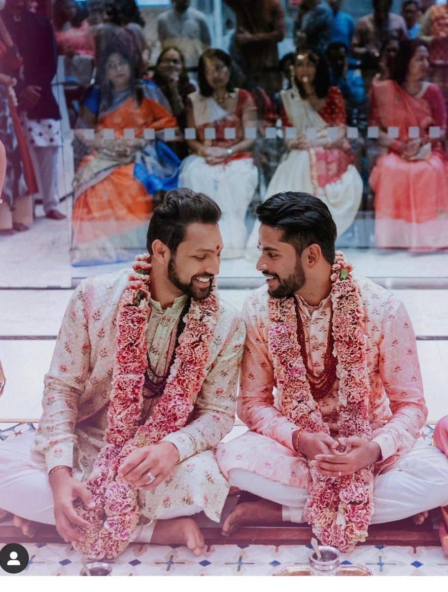They got married in NJ temple, this marriage opens up possibilities 4 an entire #QueerCommunity back in #India.They featured on my show, I strongly support n believe that if the religious places open the gates for #queermarraiges the society for sure will make it easy for lovers https://t.co/qKGJJO4bvY